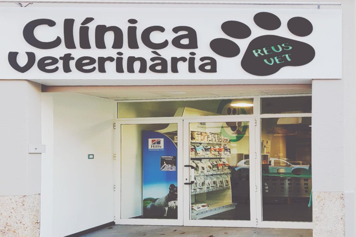 entrada centro veterinario en reus Reus Vet
